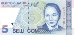 5 Kirgizijos somai.