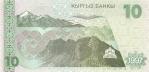 10 Kirgizijos somų.