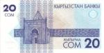 20 Kirgizijos somų.