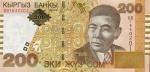 200 Kirgizijos somų.