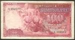 100 Latvijos latų.