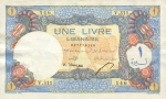 1 Libano svaras.