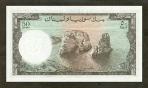 50 Libano svarų.