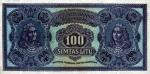 100 Lietuvos litų.