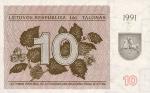 10 Lietuvos talonų.