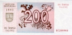 200 Lietuvos talonų.