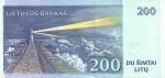 200 Lietuvos litų.