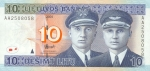 10 Lietuvos litų.