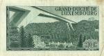 10 Liuksemburgo frankų.