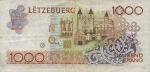 1000 Liuksemburgo frankų.
