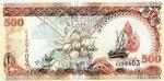 500 Maldyvų rufijų.