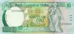 10 Maltos lirų.