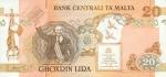 20 Maltos lirų.