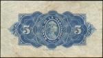5 Martinikos frankai.