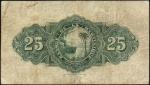 25 Martinikos frankai.