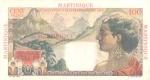 100 Martinikos frankų.