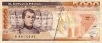 5000 Meksikos pesų.