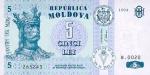 5 Moldovos lėjos.