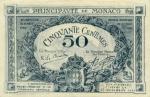 50 Monako sentimų.