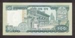 100 Nepalo rupijų.