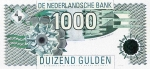 1000 Olandijos guldenų.