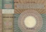 50 Olandijos guldenų.