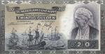 20 Olandijos guldenų.