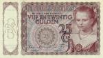 25 Olandijos guldenai.