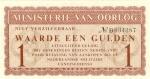 1 Olandijos guldenas.
