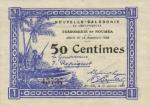 50 Naujosios Kaledonijos sentimų.