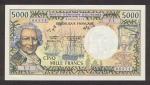 5000 Naujosios Kaledonijos frankų.