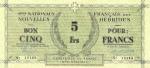 5 Naujųjų Hebridų salų frankai.