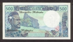 500 Naujųjų Hebridų salų frankų.