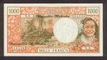 1000 Naujųjų Hebridų salų frankų.