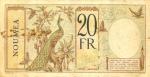 20 Naujųjų Hebridų salų frankų.