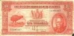 10 Naujosios Zelandijos šilingų.