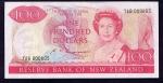 100 Naujosios Zelandijos dolerių.