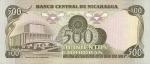 500 Nikaragvos kordobų.