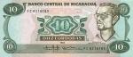 10 Nikaragvos kordobų.