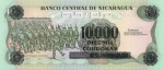 10000 Nikaragvos kordobų.