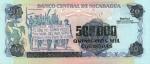 500000 Nikaragvos kordobų.