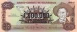 1000000 Nikaragvos kordobų.