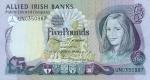 5 Šiaurės Airijos svarai.