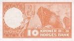 10 Norvegijos kronų.