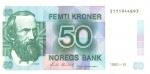50 Norvegijos kronų.