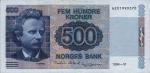 500 Norvegijos kronų.