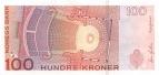 100 Norvegijos kronų.