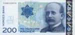 200 Norvegijos kronų.