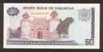 50 Pakistano rupijų.