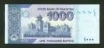 1000 Pakistano rupijų.